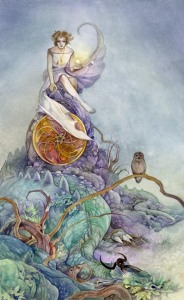 Page of Pentacles - Shadowscapes Tarot