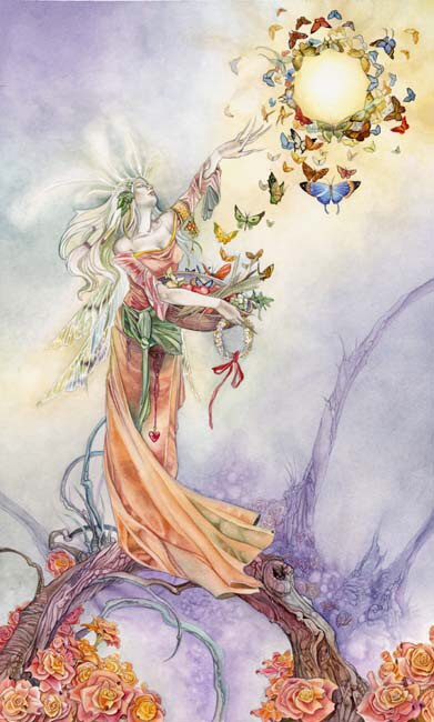 The Empress - Shadowscapes Tarot