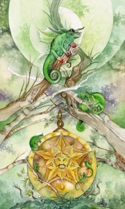 Ace of Pentacles - Shadowscapes Tarot