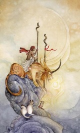 Two of Wands - Shadowscapes Tarot