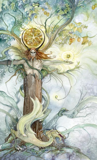 King of Pentacles - Shadowscapes Tarot