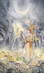 The Moon - Shadowscapes Tarot