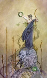 Six of Wands - Shadowscapes Tarot