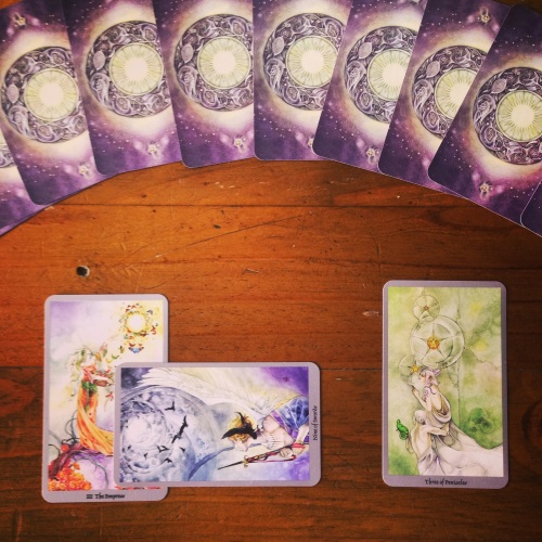 The Empress, The Nine of Swords, & The Three of Pentacles - Shadowscapes Tarot