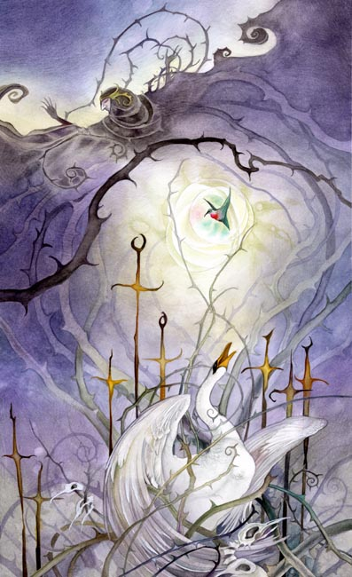 Eight of Swords - Shadowscapes Tarot