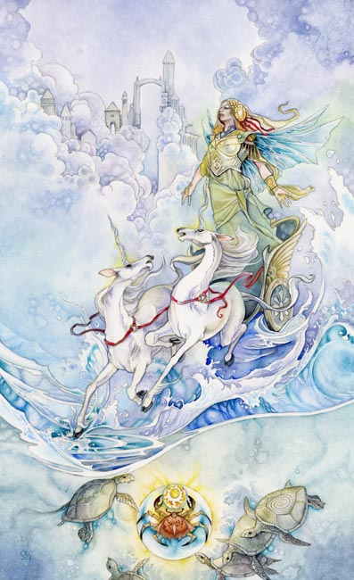 The Chariot - Shadowscapes Tarot