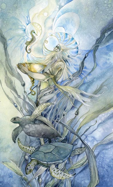 King of Cups - Shadowscapes Tarot