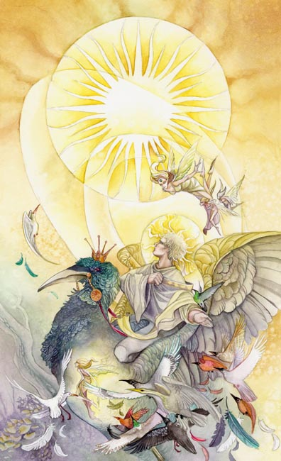The Sun - Shadowscapes Tarot