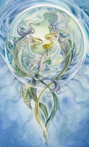 The Three of Cups - Shadowscapes Tarot