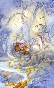 Six of Cups - Shadowscapes Tarot