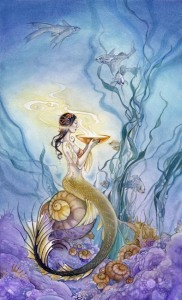 Page of Cups - Shadowscapes Tarot