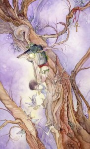 The Hanged Man - Shadowscapes Tarot