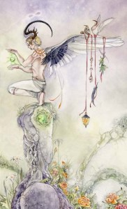 The Magician - Shadowscapes Tarot