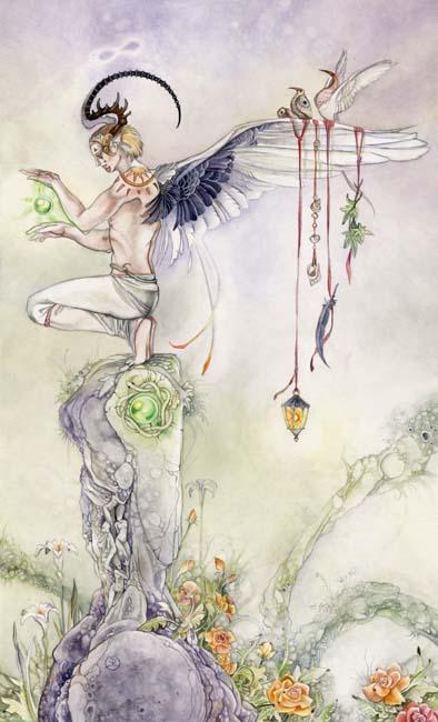 The Magician - Shadowscapes Tarot