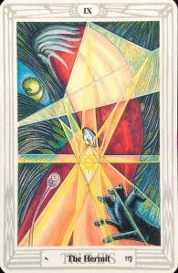 The Hermit - Thoth Tarot