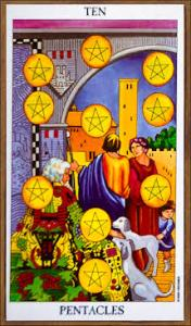 Ten of Pentacles - Radiant Rider Waite Tarot