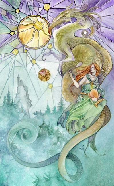 Ten of Pentacles - Shadowscapes Tarot